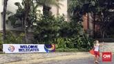 PSSI menggelar Kongres Tahunan diNusa Dua, Bali, Minggu (20/1). Kongres Tahunan PSSI 2019 memiliki agenda utama membahas evaluasi kinerja dan kegiatan selama tahun 2018. (CNN Indonesia/Arby Rahmat Putratama)
