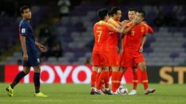 China ke Perempat Final Piala Asia Usai Kalahkan Thailand