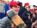 VIDEO: Puluhan Siswa Lecehkan Nyanyian Penduduk Asli Amerika