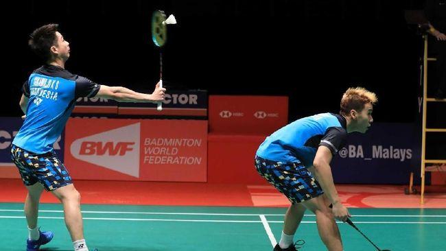 Marcus/Kevin Kalah di Semifinal Singapura Terbuka 2019