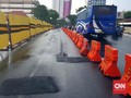 Polda Jatim Tetapkan Tiga Tersangka Amblesnya Jalan Gubeng