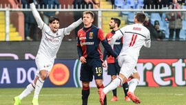 AC Milan Kalahkan Tuan Rumah Genoa 2-0 di Liga Italia