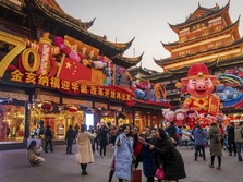 Terhantam Perang Dagang, PDB China Terlemah sejak 1990!
