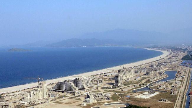 Korea Bangun Wisata Pantai Dekat Gudang Rudal