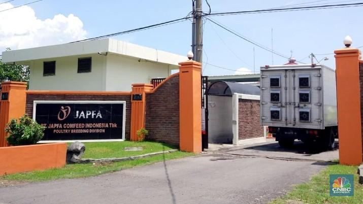 PT Japfa Comfeed Indonesia Tbk (JPFA) mencatatkan kinerja positif sepanjang tahun lalu.