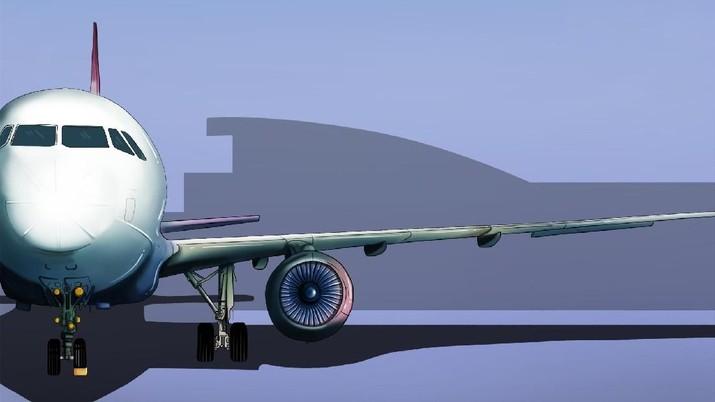 Perhatian Jokowi Minta Harga Tiket Pesawat Turun Pekan Ini