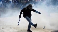 Protes Penggantian Nama Makedonia di Yunani Berujung Ricuh
