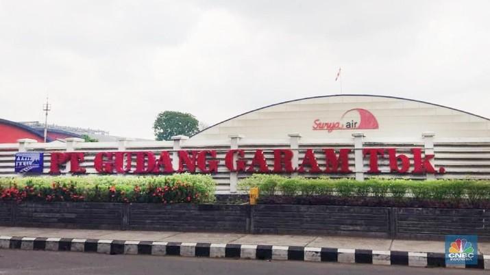 PT. Gudang Garam (CNBC Indonesia/Houtman P Saragih)