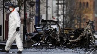 FOTO: Generasi Baru Pemberontak Bikin Irlandia Utara Bergolak