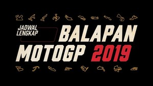INFOGRAFIS: Jadwal Lengkap MotoGP 2019