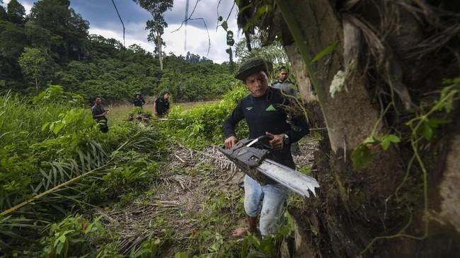 Untuk menjaga 'harga diri' hutanSubullusalam dari tangan orang-orang jahil, para ranger pun bekerja tanpamengenal waktu.