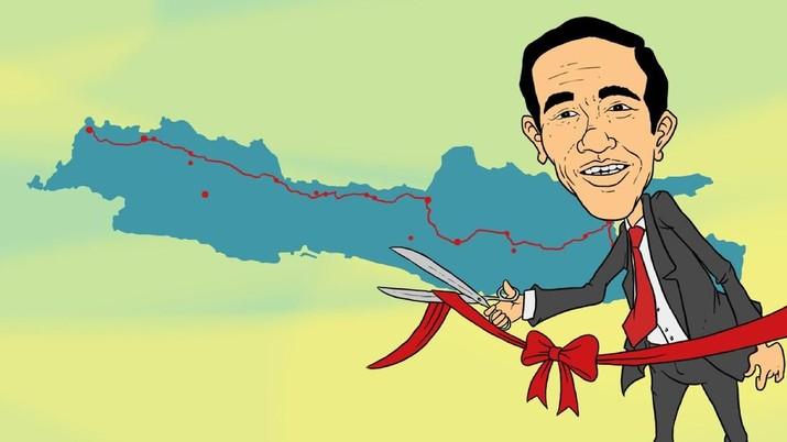 Layakkah Jokowi disebut sebagai Bapak Infrastruktur-nya Indonesia?
