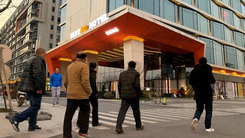 Tarif kamar mulai dari 1.390 yuan sekitar Rp2.900.000 per malam.