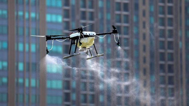 Darurat Polusi Thailand Kerahkan Drone Turunkan Hujan Buatan
