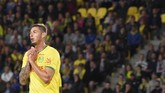 Emiliano Sala baru saja dibeli Cardiff City dari Nantes. The Blue Birds berharap pemain asal Argentina itu dapat menambah daya gedor tim. (SEBASTIEN SALOM GOMIS / AFP)