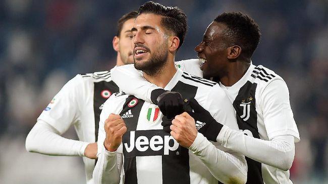 Juventus Kalahkan Chievo 3-0, Ronaldo Gagal Penalti