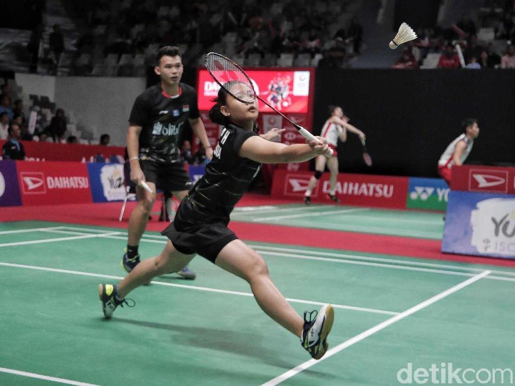 Rinov/Pitha Melangkah ke Babak 16 Besar Indonesia Masters