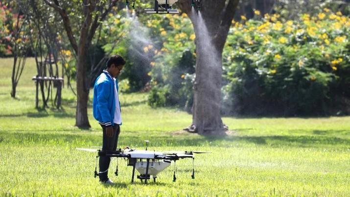 Untuk meminimalisasi polusi udara, Thailand akan mengerahkan drone untuk menurunkan hujan buatan.