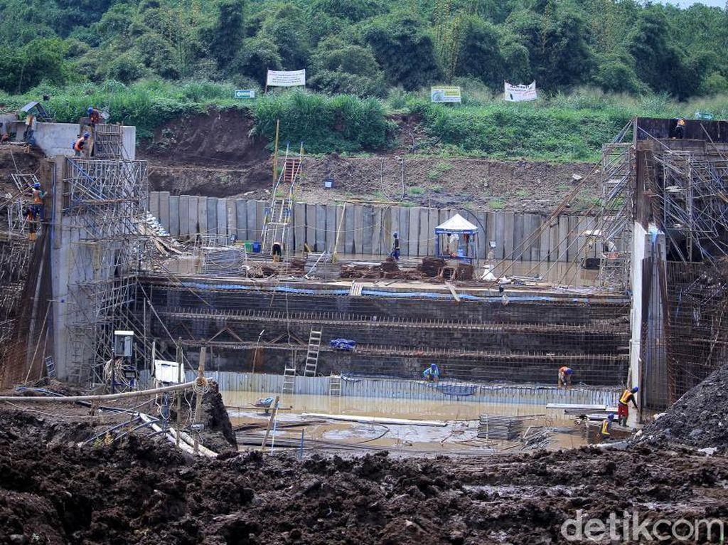 Penampakan Terkini Pembangunan Floodway Cisangkuy