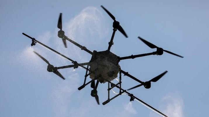 Pengiriman menggunakan drone hanya akan menelan waktu 12 menit.