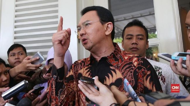 Kubu Jokowi Tak Berencana Rekrut Ahok Jadi Tim Sukses