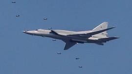 Pesawat Pengebom Supersonik Rusia Jatuh