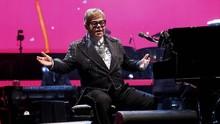 FOTO: Aksi Elegan Elton John di Konser Perpisahan