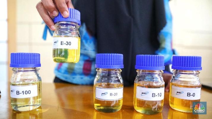 Kementerian ESDM menetapkan harga BBN naik jadi Rp 7.015 per liter