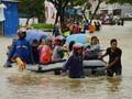 Banjir Sulsel Renggut 68 Nyawa, 6.757 Orang Mengungsi