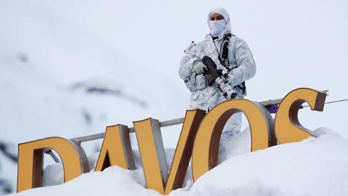Ribuan pemimpin politik, bisnis, dan budaya menghadiri World Economic Forum (WEF) di kota Alpen Swiss, Davos, pekan ini.