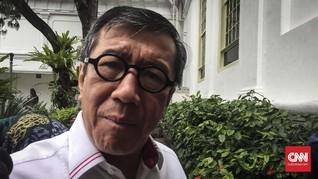Yasonna: 188 Ribu WNA China Masuk Indonesia pada Januari 2020