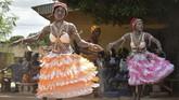 """""""Komian memiliki peran untuk menyucikan dan berpartisipasi dalam kohesi serta stabilitas wilayah,"""" kata Pascal Abinan Kouakou, menteri tenaga kerja Pantai Gading kepada AFP. (SIA KAMBOU / AFP)"""