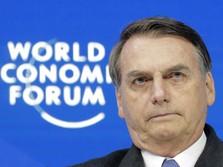 Hat-Trick! Tiga Kali Tes, Presiden Brasil Masih Positif Covid