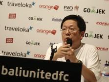 Pieter Tanuri Tambah Kepemilikan Saham Bali United