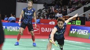 Hasil Piala Sudirman: Indonesia vs Taiwan Imbang 2-2