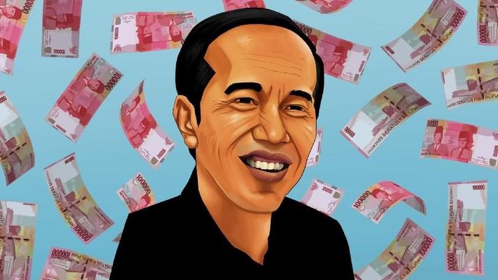 Soal Kebocoran Anggaran Rp 500 T, Jokowi: Lapor Saja KPK