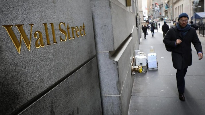 Kemarin Melesat, Hari ini Wall Street Bingung Tentukan Arah