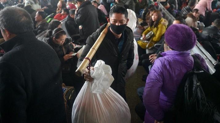 Mengintip Budaya Mudik Warga China Jelang Perayaan Imlek
