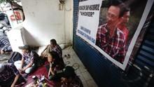 Air Mata Ahoker Tak Saksikan Momen Kebebasan di Mako Brimob