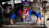 Thao Thi Van baru berusia dua tahun ketika ibunya hilang saat pergi ke pasar. Ada kemungkinan diculik oleh pedagang yang memangsa wanita dari suku Hmog di Vietnam Utara. (Nhac NGUYEN / AFP)