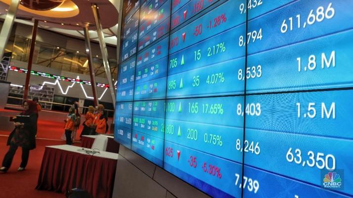 Tercatat 26 saham di daftar saham paling likuid tersebut berada di zona merah.