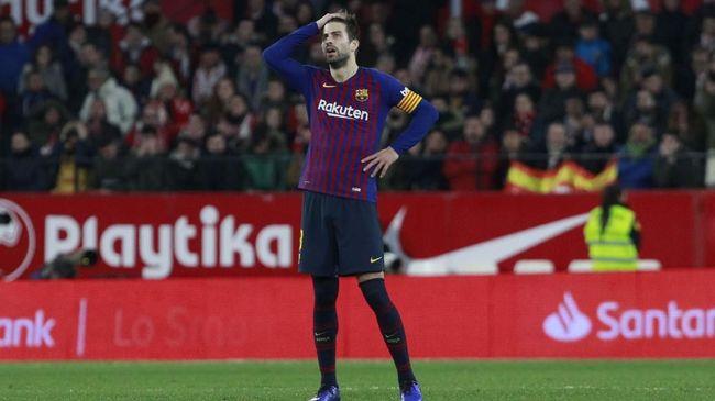 Pique: Barcelona Sulit Juara Liga Champions Musim Ini