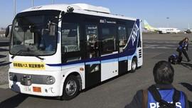 Jepang Mulai Uji Bus Bandara Berteknologi Otonom