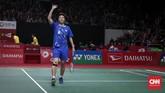 Keberhasilan Tontowi/Liliyana ke perempat final membuat penggemar bulutangkis masih punya kesempatan melihat penampilan Liliyana Natsir di lapangan. (CNNIndonesia/Safir Makki)