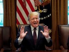 Pemerintahan Minta Dibuka, Trump: Harus Ada Uang untuk Tembok