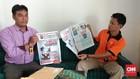 Bawaslu Serahkan Tabloid Indonesia Barokah ke Dewan Pers