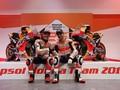 Tangan Lorenzo Masih Dibebat di Peluncuran Tim Honda