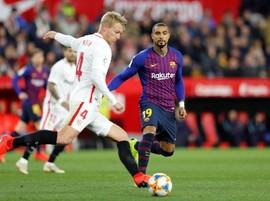 Boateng Debut, Barcelona Kalah dari Sevilla di Copa Del Rey
