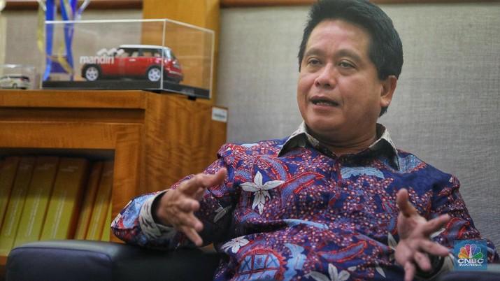 Direktur Bisnis Kecil dan Jaringan Bank Mandiri, Hery Gunardi