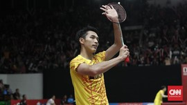 Jonatan Christie Gagal ke Final Indonesia Masters 2019